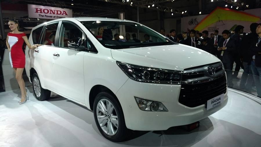 2016 Toyota Innova Crysta model - India Car News