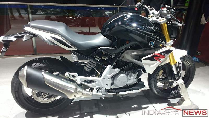 BMW G310R side view