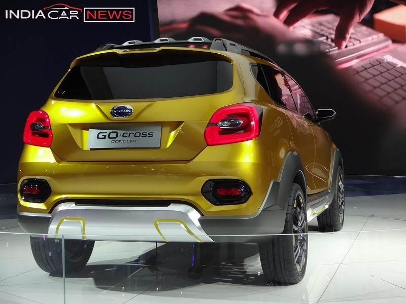 Datsun GO Cross rear view