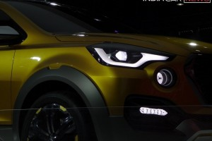 Datsun GO Cross headlight