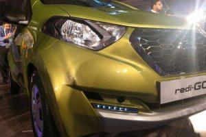 Datsun RediGo front profile