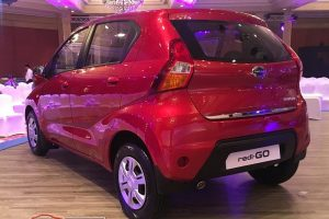 Datsun rediGo red rear