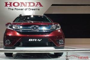 Honda BR-V grille