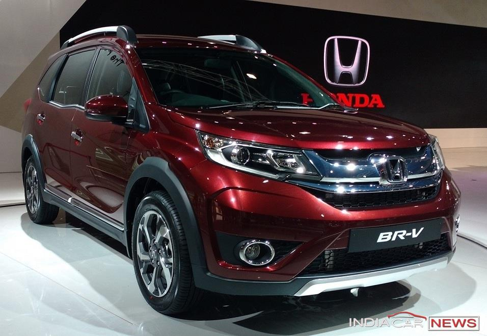 honda br v brv price in india launch mileage pics colors
