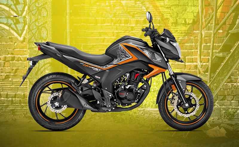Honda CB Hornet 160R Special Edition Orange