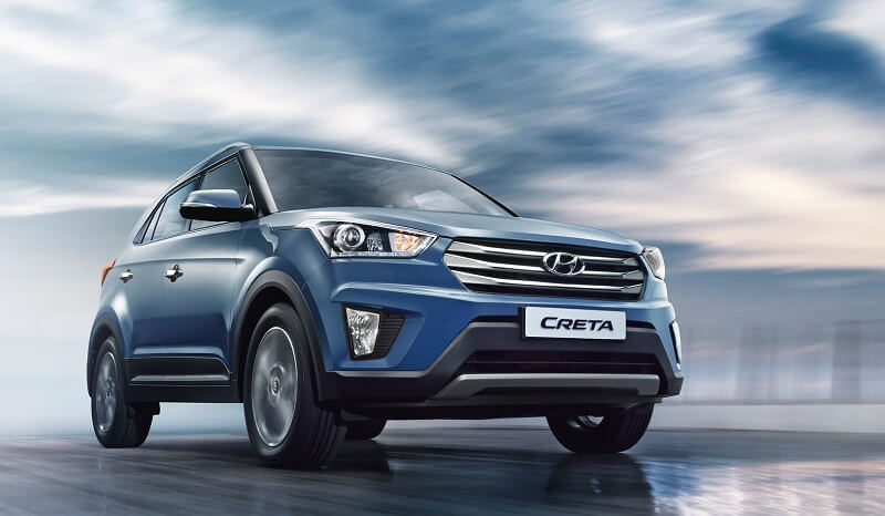 Hyundai Creta in Blue