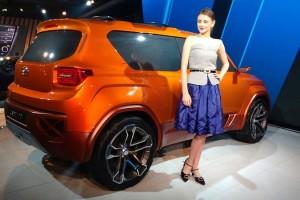 Hyundai Carlino compact SUV side pic