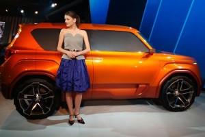 Hyundai Carlino compact SUV side view