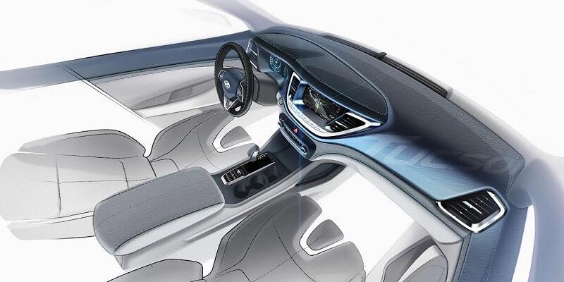 hyundai tucson design sketches interior india car news. Black Bedroom Furniture Sets. Home Design Ideas
