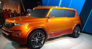 Hyundai Carlino compact SUV side profile
