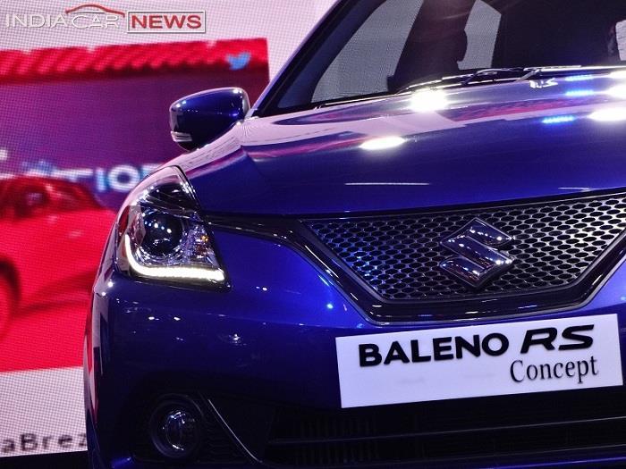 Maruti Suzuki Baleno RS front grille