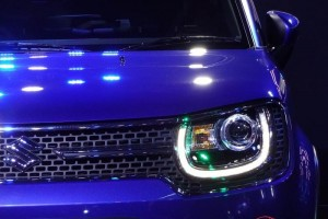 Maruti Ignis front grille