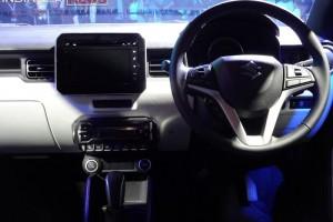 Maruti Ignis steering