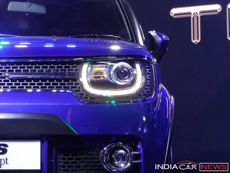 Maruti Ignis headlight