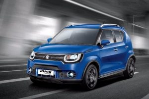 Maruti Suzuki Ignis sub-4 metre SUV for India