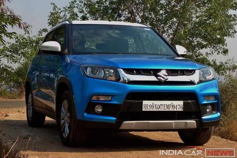 Maruti Vitara Brezza price in India