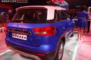 Maruti Vitara Brezza rear view