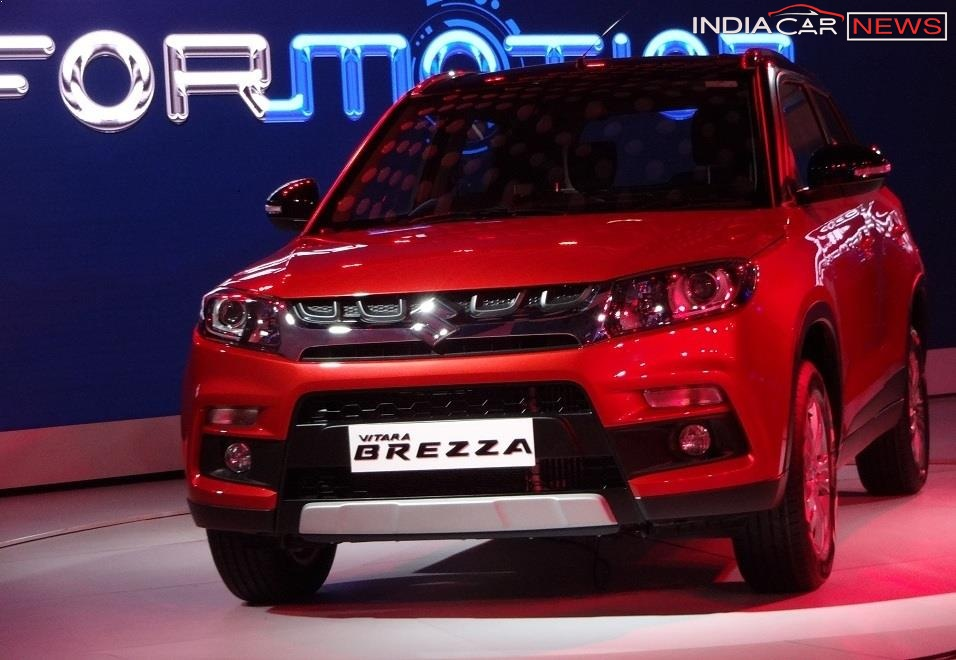 Maruti Vitara Brezza Price Range Mileage Specs In Quick