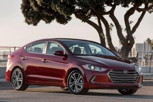 New Hyundai Elantra 2016 front side