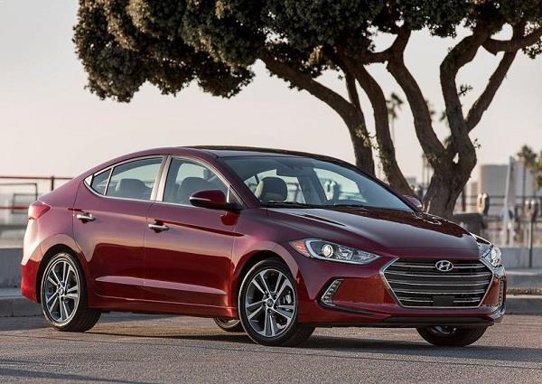 New Hyundai Elantra 2016 front side