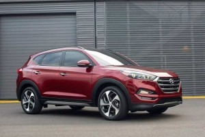 New Hyundai Tucson 2016 India front side