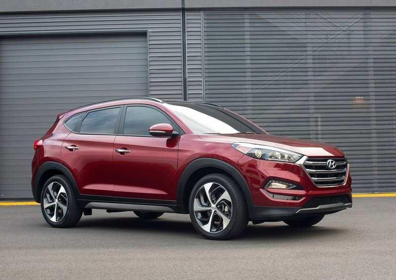 New Hyundai Tucson 2016 India front side
