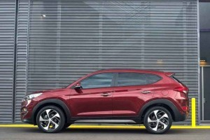 New Hyundai Tucson 2016 India side profile