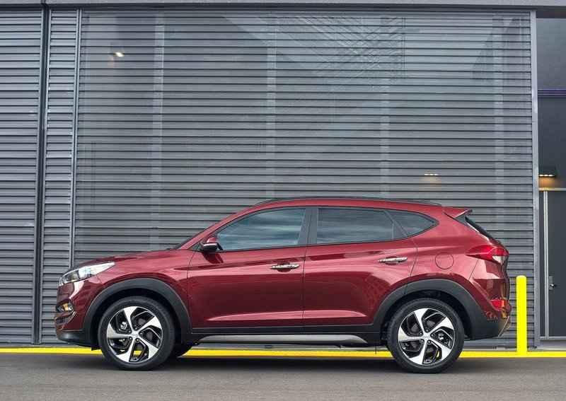 New Hyundai Tucson 2016 India side profile