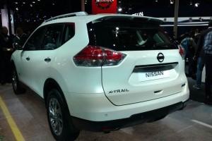 New Nissan X Trail 2016 rear side