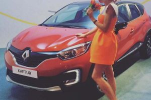 Renault Kaptur in orange