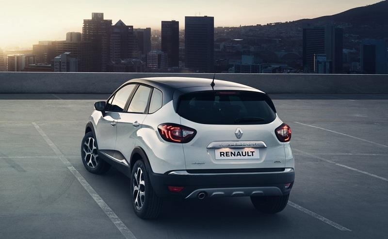 Renault Kaptur rear profile