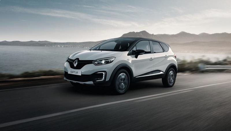 Renault Kaptur side profile