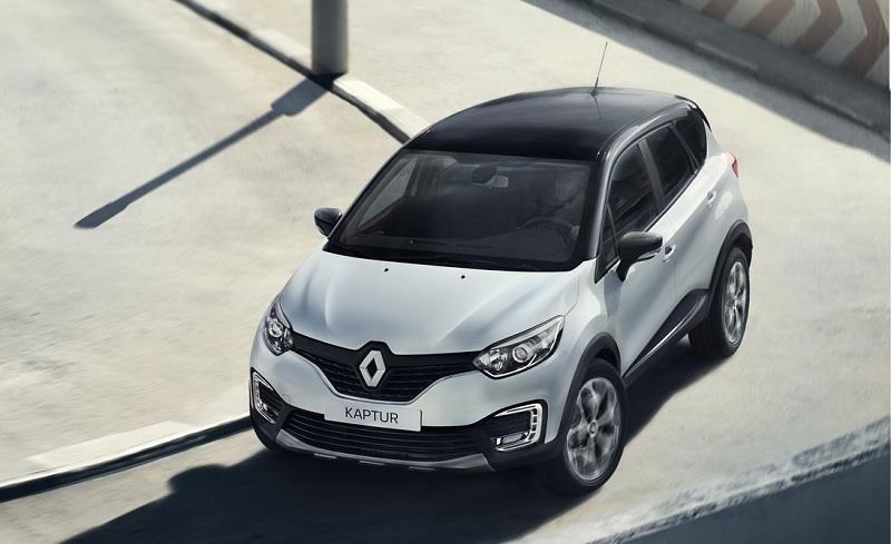 Renault Kaptur roof