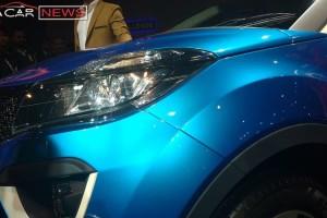 Tata Nexon compact SUV headlight