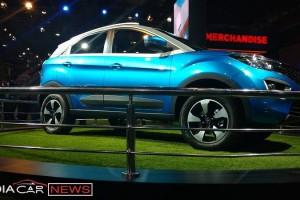 Tata Nexon compact SUV side view