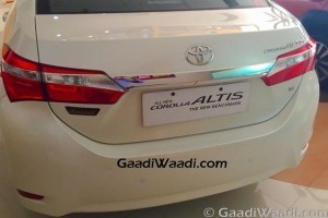 Toyota Corolla Altis Limited Edition rear