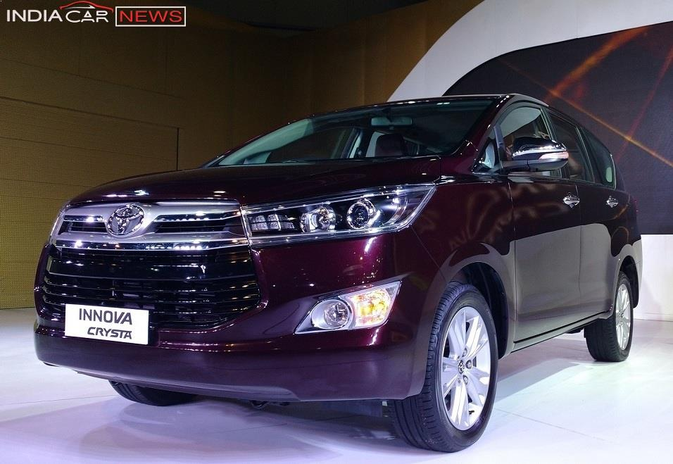 Toyota Innova Price In India 2016 Toyota Innova Crysta