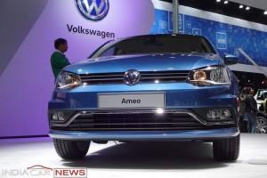 Volkswagen Ameo front fascia