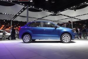 Volkswagen Ameo side view