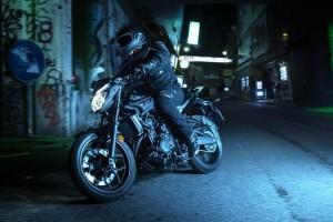 Yamaha MT 03 bike