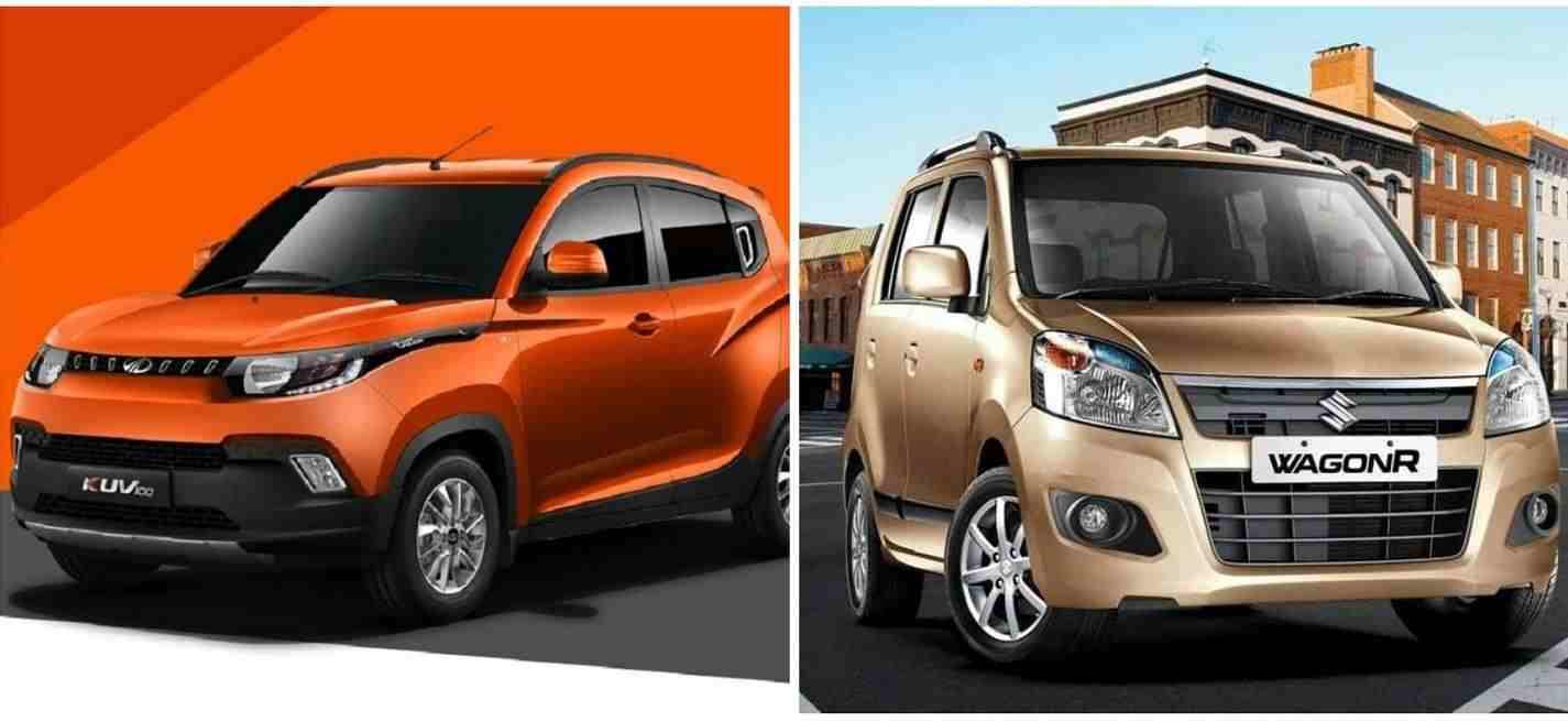mahindra kuv100 vs maruti wagon r comparison
