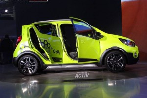 Chevrolet Beat Activ side view