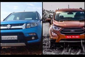 Ford EcoSport Vs Maruti Vitara Brezza