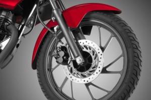 Honda CB125F Front disc brakes