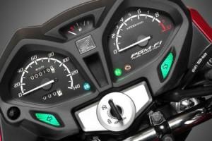 Honda CB125F instrument cluster