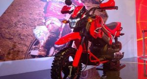 Honda Navi red front
