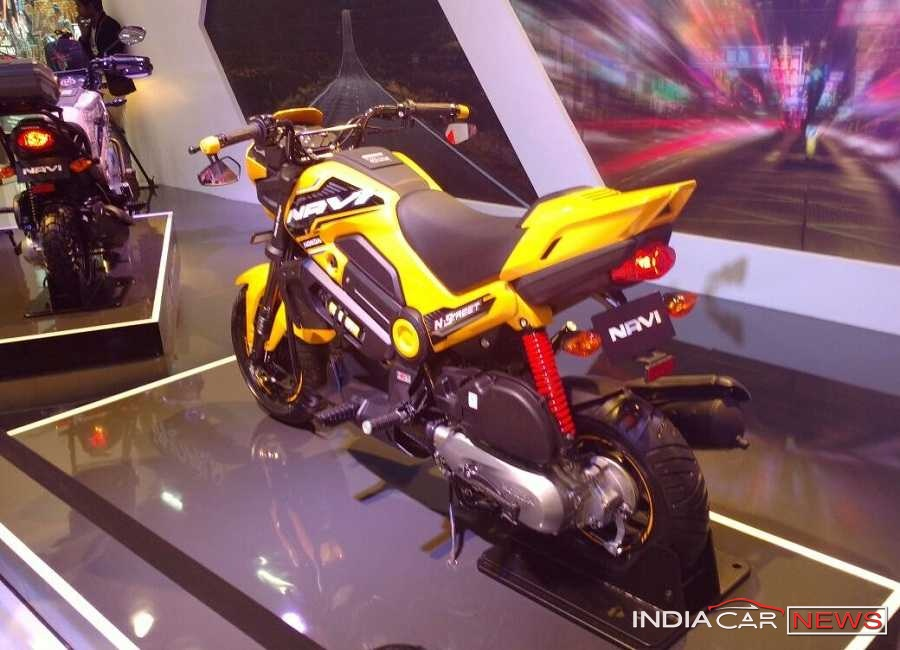 Honda Navi bike in Yellow color