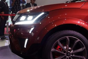 Mahindra XUV Aero LED headlamp