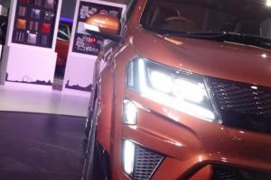 Mahindra XUV Aero concept headlight