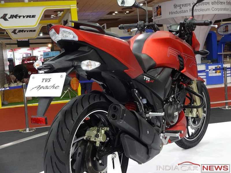 TVS Apache RTR 200 4V bike